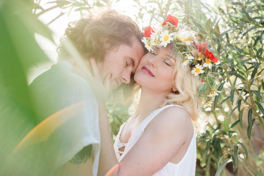 Ibiza wedding and engagement photo shoot with Masha Kart